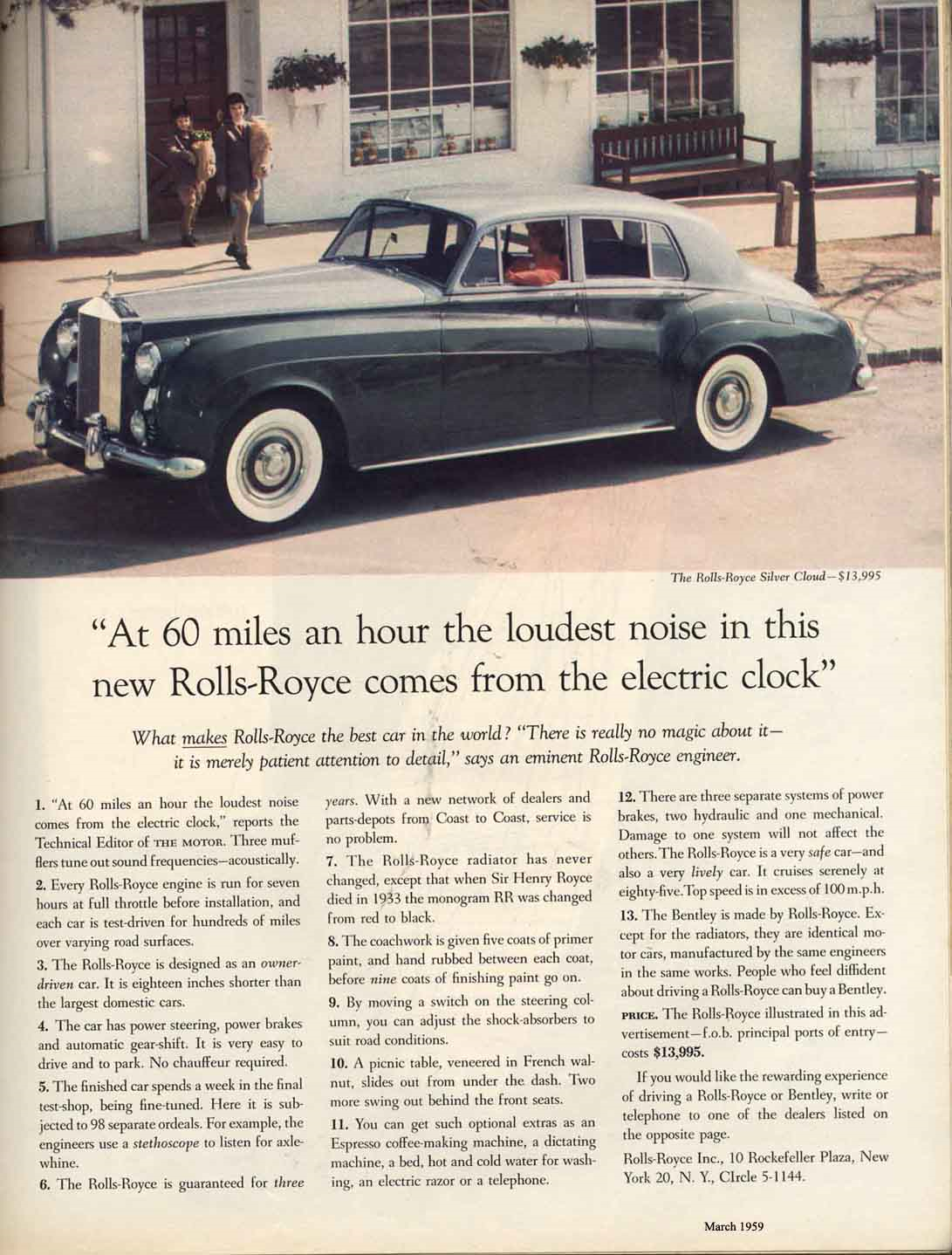 Image result for david ogilvy rolls royce ad